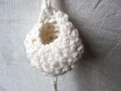 Crochet pod