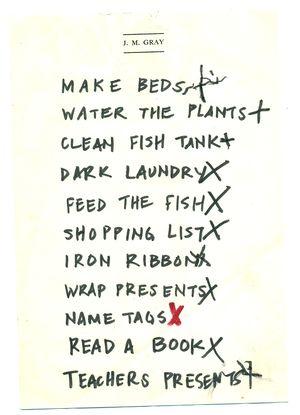 Sick list