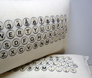 Typewriter pillow 5