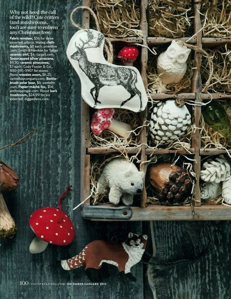 Country living ornament