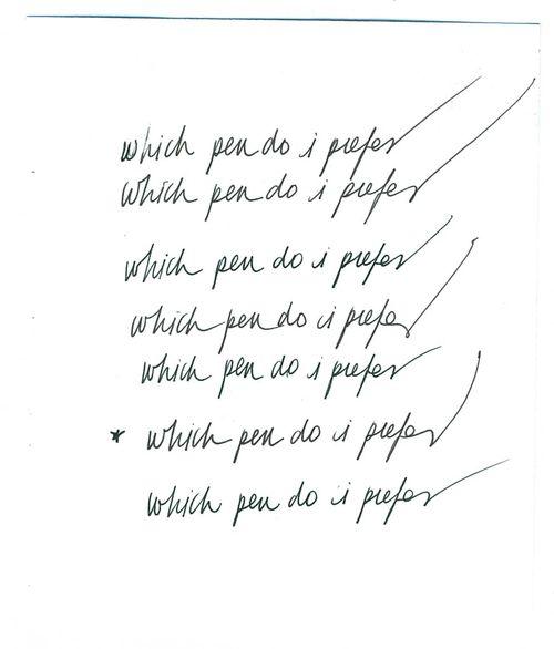Which pen do  i prefer