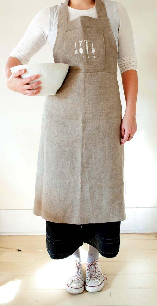 Make apron 1
