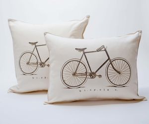 Two bike pillows